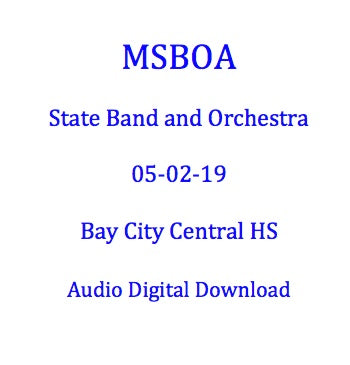 2019 Tawas Area HS Concert Band