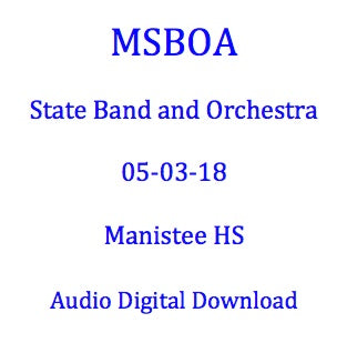 Manistee MS 8th Grade Band
