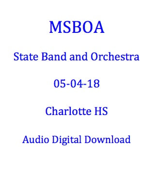 Charlotte MS Cadet Band I