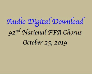 91st National FFA Chorus