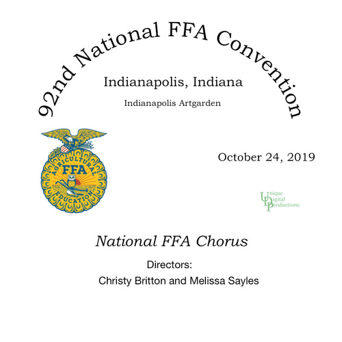 92nd National FFA Chorus