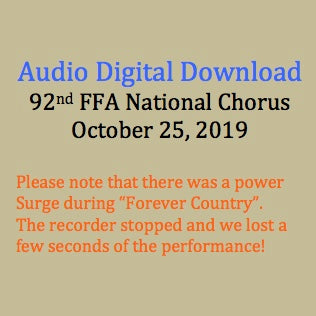 92st National FFA Chorus