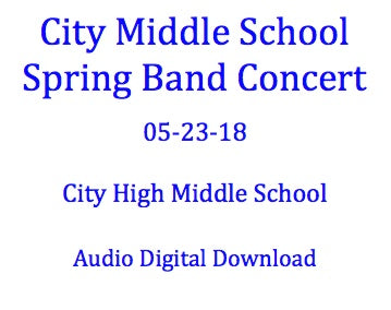 City Middle School Spring Concert