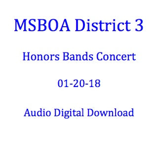 District 3 Honors Bands Concert