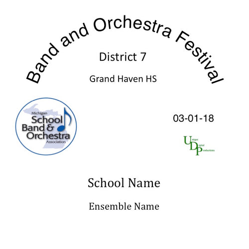 Grand Haven Lakeshore MS Seventh Grade Band