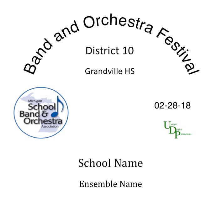 Grandville MS 2nd Hr 8th Grade Orchestra