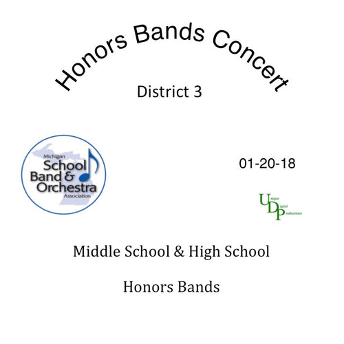 District 3 Honors Bands