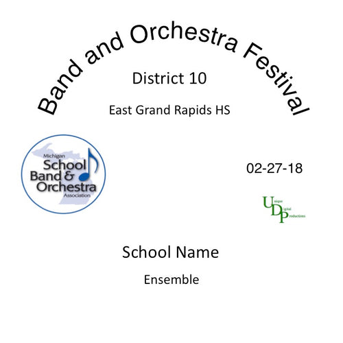 East Grand Rapids MS 8th Grade Band