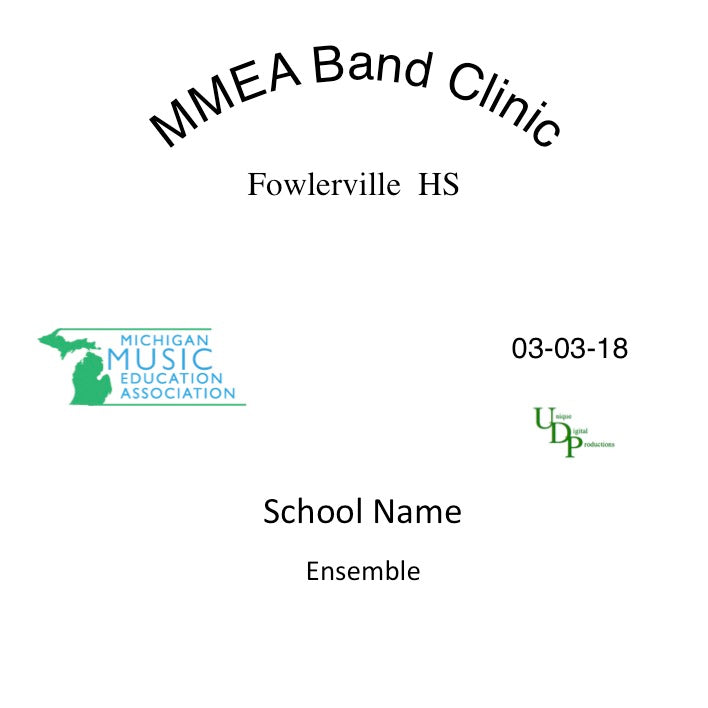 Springport Middle School Festival Band