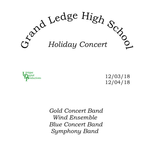 2018 Grand Ledge High School Holiday Concerts