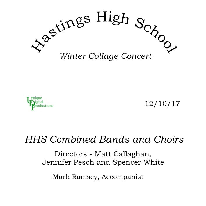 Hastings High School Winter Collage Concert