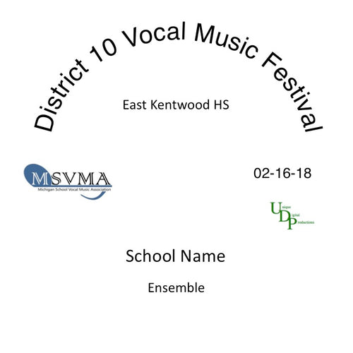 East Kentwood Chamber Choir