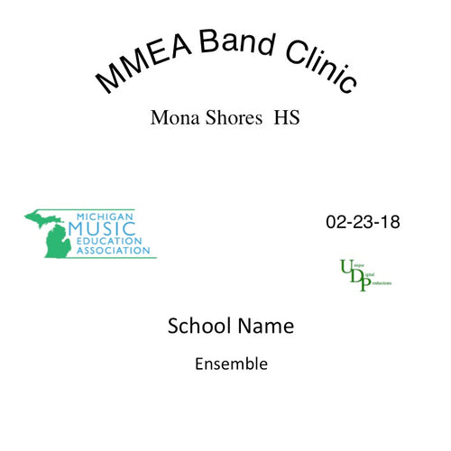 Mona Shores MS 8th Grade Concert Band