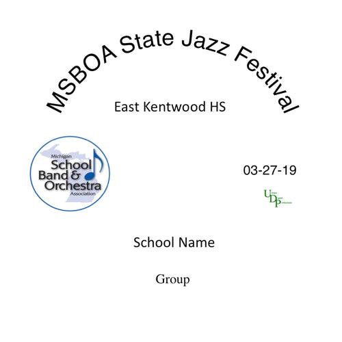 Kentwood East Kentwood HS Jazz Ensemble 1