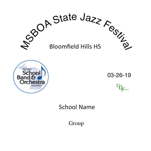 Sterling Heights Ford II HS Jazz Ensemble