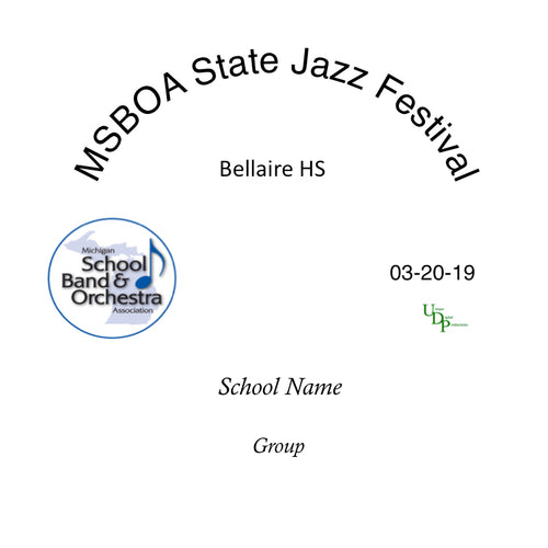 Scottville Mason Co. Central HS Jazz Band