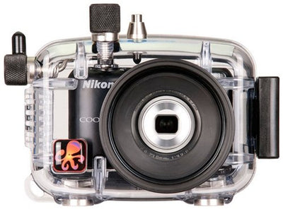 Ikelite 6280.30 Underwater TTL Camera Housing for Nikon Coolpix L27 Digital Camera
