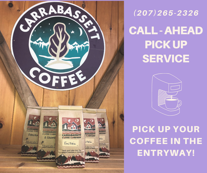 Call-Ahead Service for In-Person Customers