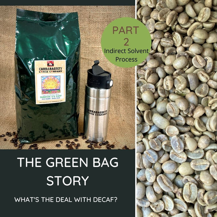 The Green Bag Story: Decaf Coffee (part 2)
