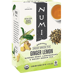 Numi Ginger Decaf - 16ct box