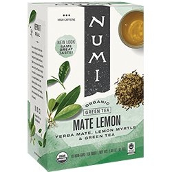 Numi Mate Lemon Tea - 18ct box