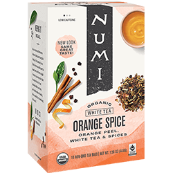 Numi Orange Spice Tea - 16ct box