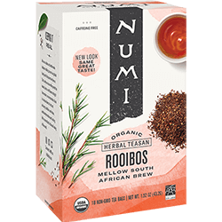 Numi Red Rooibos - 18ct box