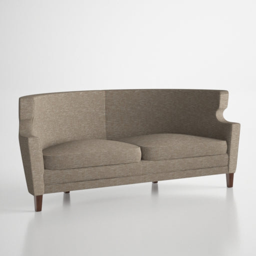 David Edward Tulip Tweed Couch