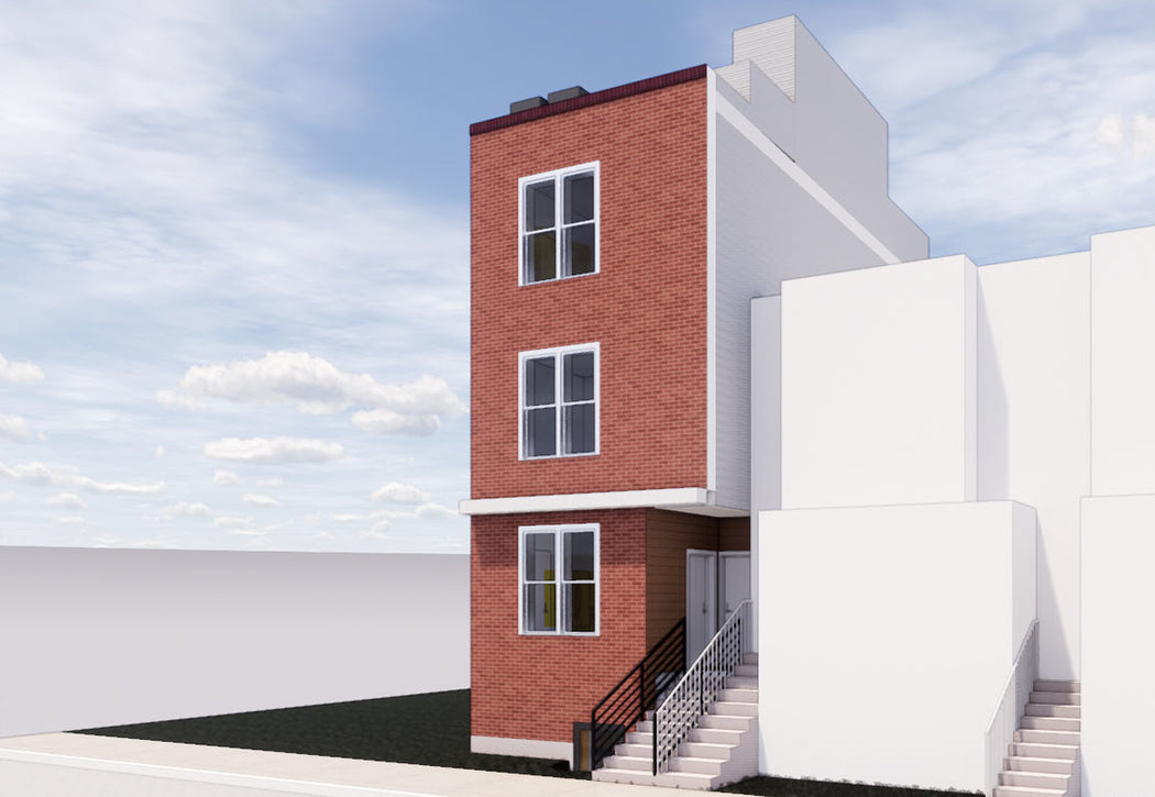 Design-Build Two-Family Row Home: Ferry