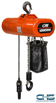 1/4 Ton CM Lodestar Electric Chain Hoist - 16fpm