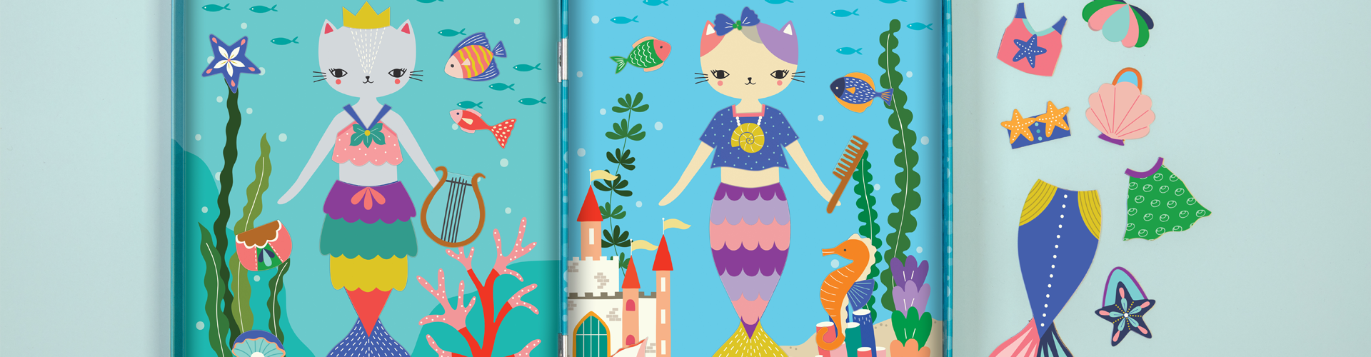 Under the sea collection from Mudpuppy