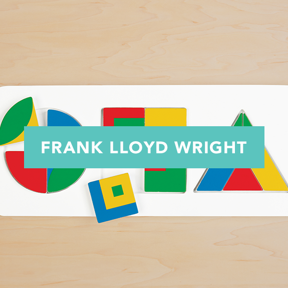 frank lloyd wright puzzles games toys