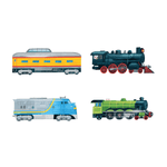 All Aboard! Magnetic Build-it Magnetic Tin Playsets Mudpuppy