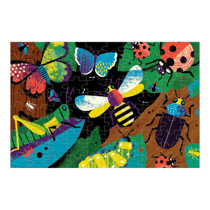 Amazing Insects Glow in the Dark Puzzle Glow in the Dark Puzzles Mudpuppy