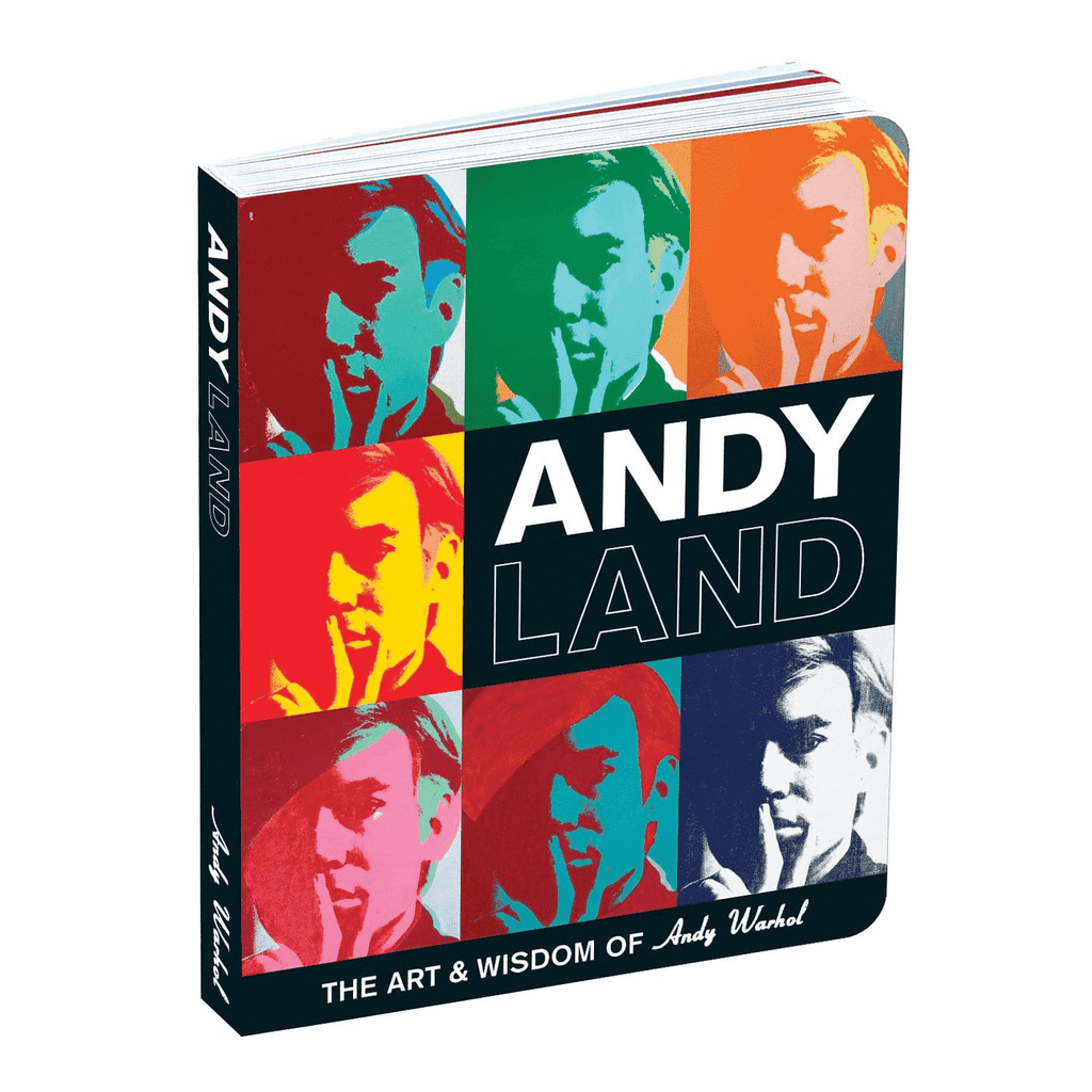 Andy Warhol Andyland Board Book Board Books Mudpuppy