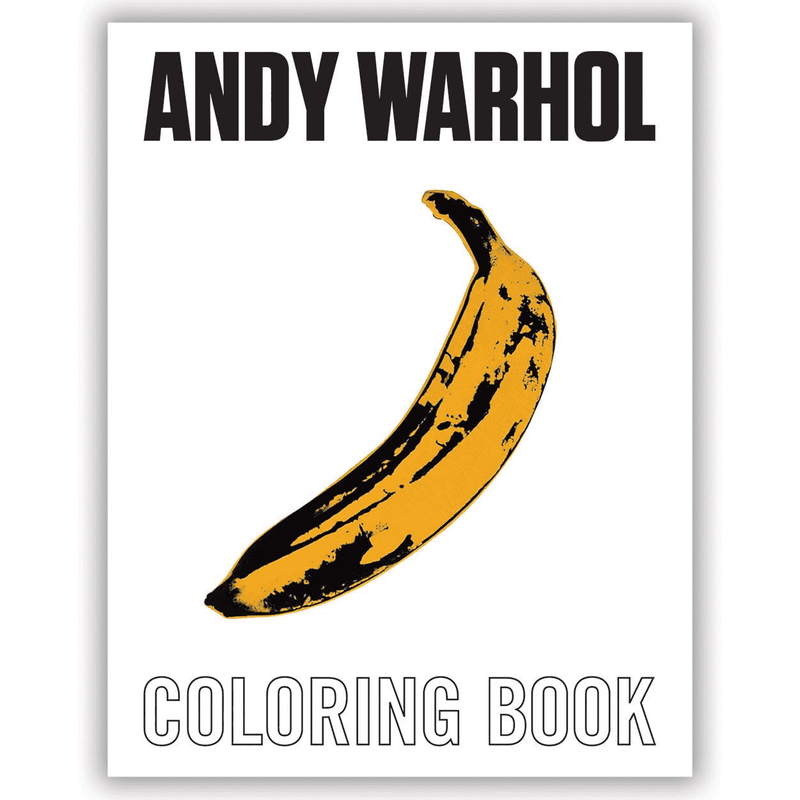 Andy Warhol Coloring Book Coloring Books Mudpuppy
