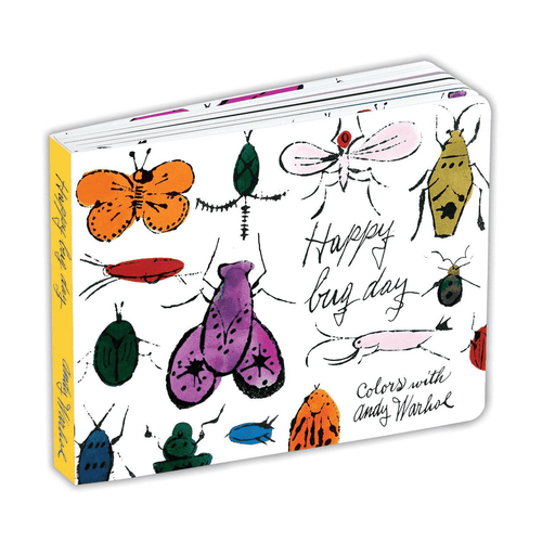 Andy Warhol Happy Bug Day Board Book Board Books Mudpuppy