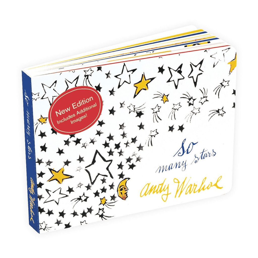 Andy Warhol So Many Stars (2nd Edition) Board Book Board Books Mudpuppy