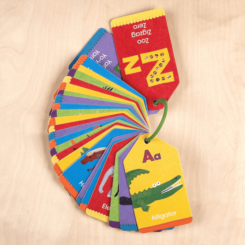 Animal ABCs Ring Flash Cards Ring Flash Cards Mudpuppy