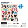 Animals A-Z 500 Piece Puzzle Family Puzzles Mudpuppy