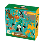 Animals of the World Jumbo Puzzle Jumbo Puzzles Mudpuppy