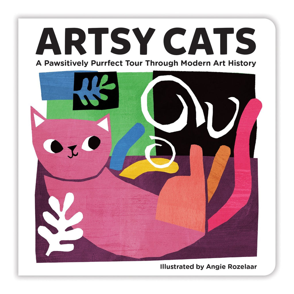 Artsy Cats Board Book Board Books Mudpuppy