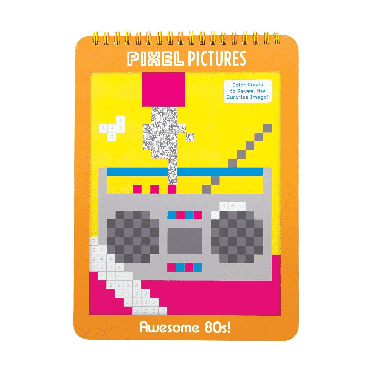 Awesome 80s! Pixel Pictures sale Mudpuppy