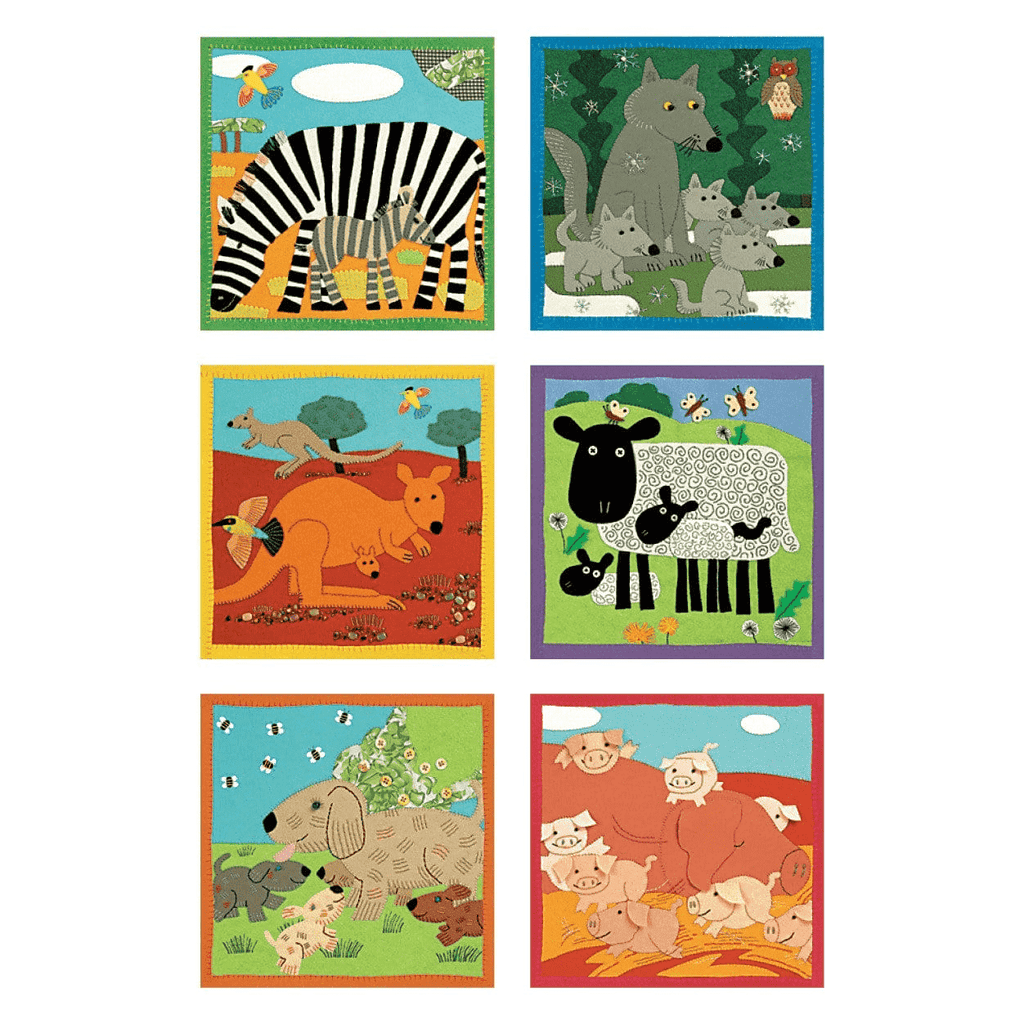 Baby Animals Block Puzzle Block Puzzles Mudpuppy