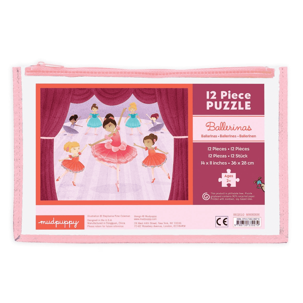Ballerinas Pouch Puzzle Pouch Puzzles Mudpuppy