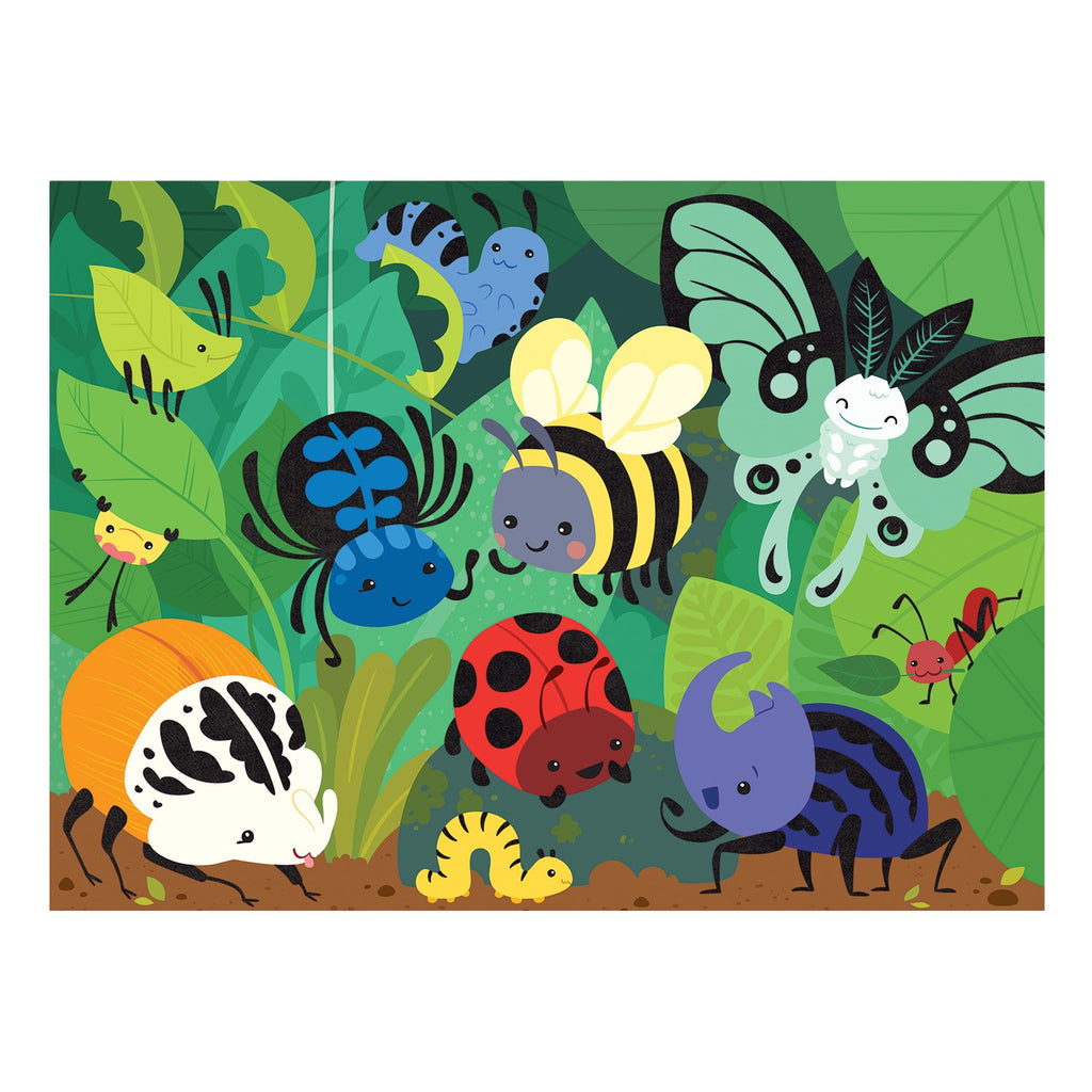 Beetles & Bugs Fuzzy Puzzle Fuzzy Puzzles Mudpuppy