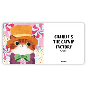 Bookish Cats Board Book Board Books Mudpuppy