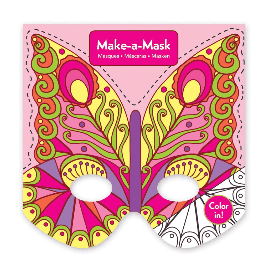 Butterflies Make-a-Mask Make a Masks Mudpuppy