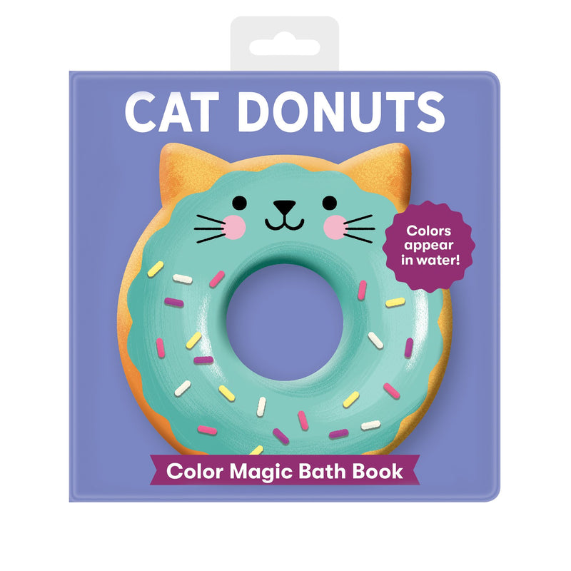 Cat Donuts Color Magic Bath Book Color Magic Bath Books Mudpuppy