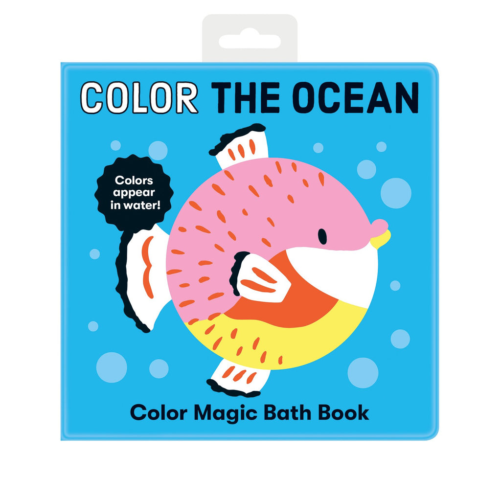 Color the Ocean Color Magic Bath Book Color Magic Bath Books Mudpuppy
